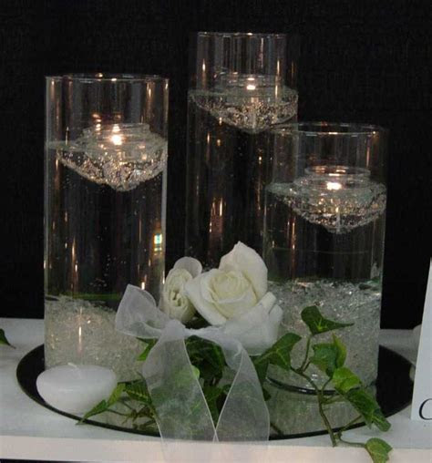 Weddingspies: Wedding Floating Candles   Beautiful Centerpiece