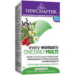 New Chapter - Organic Multivitamin for Every Women - Whole-Food Complex - Once Daily (24 Tablets) - Women's Multivitamins