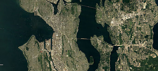 Watch from space as Seattle changes over decades