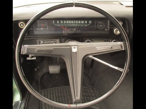 1968 Chevy Ii Nova Steering Wheel Modification Rpo N30