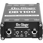 On-Stage DB1100 - Unbalanced to balanced audio converter