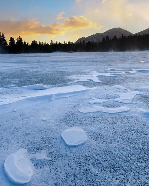 Sprague Lake Glow 1