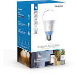 TP-Link LB120 Smart Wi-Fi LED Bulb with Tunable White Light, 10 W