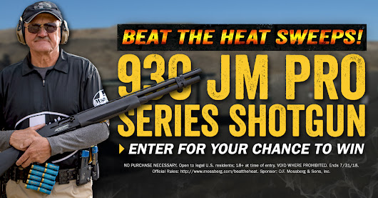 Enter for your chance to win a Mossberg 930 JM Pro-Series Shotgun