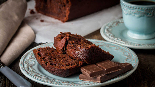 Ina Garten's Triple Chocolate Cake Loaf
