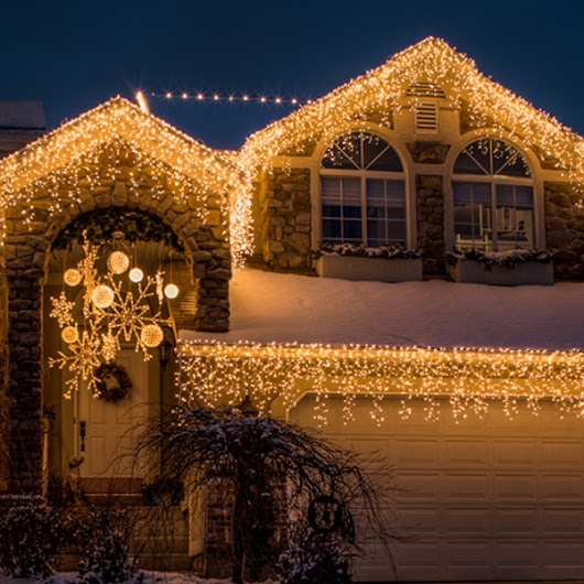 Icicle Lights - Yard Envy