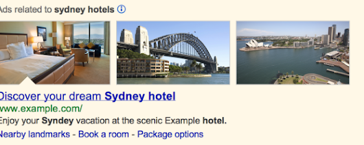 Google AdWords Image Extensions Beta