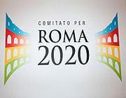 Il logo delle Olimpiadi di Roma 2020