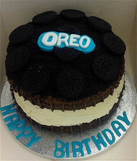 Oreo cookie cake ? decoration ideas   Little Birthday Cakes