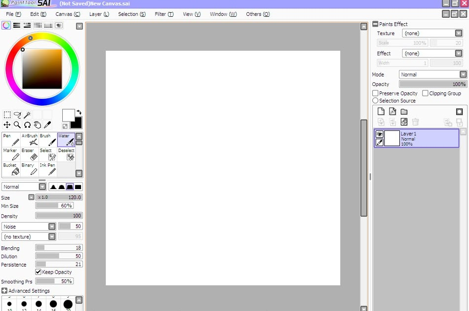Nulled hub portable paint tool sai english for Paint tool sai mac