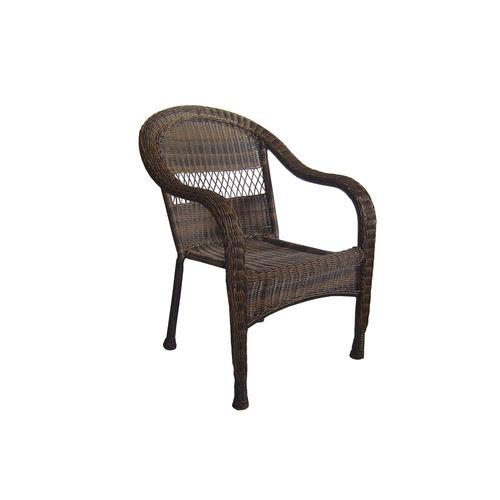 Garden Treasures Severson Wicker Patio Chair & Bench at ...