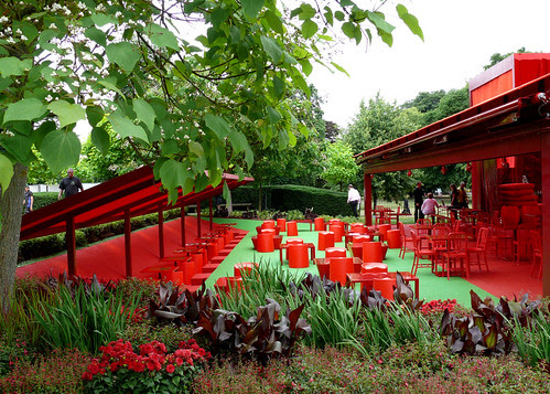 Serpentine Gallery Pavillion, Jean Nouvel, 2010.