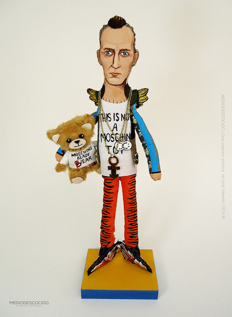 Fashion designer Jeremy Scott