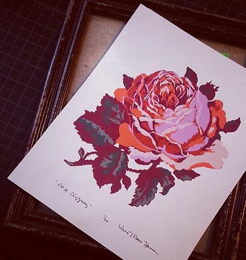 printedrose
