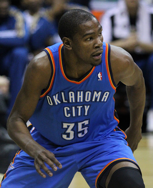 OKC Thunder Kevin Durant's Top Plays of 2014