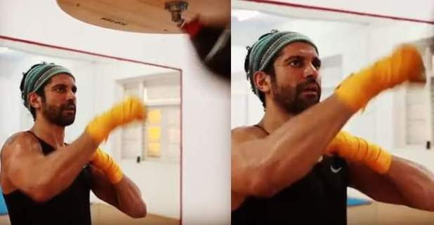 Farhan Akhtar Is Back To His Dashing Sporty Look While Preparing For His Next Film Toofan