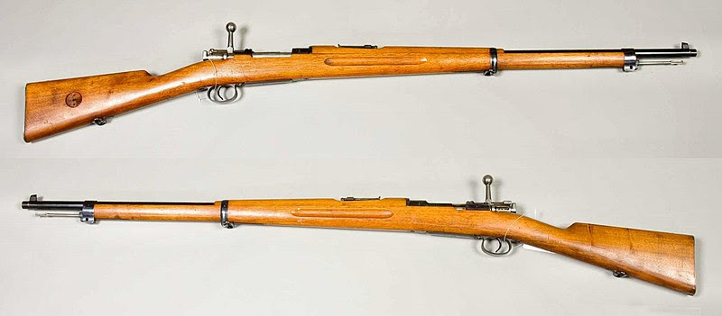 File:Gevär m-1896 - Modellexemplar tillverkat 1896 - 6,5x55mm - Armemuseum.jpg