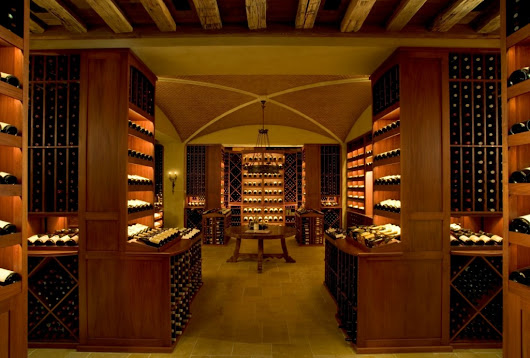 Luxury Home Wine Cellar Innovations - Hiland Hall Turner Architects