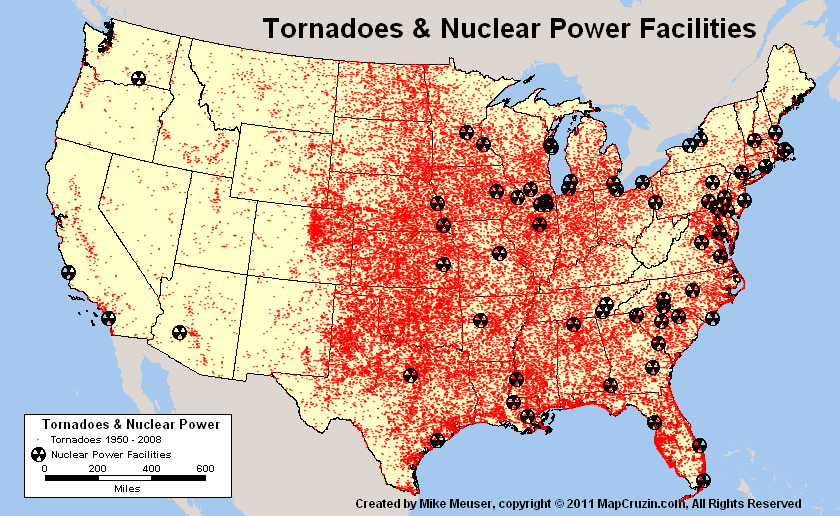 Us Power Plants Map