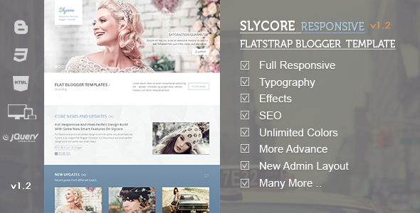 Slycore BlogSpot Templare