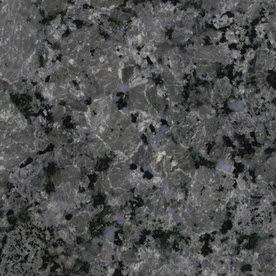 Shop SenSa 2-in W x 3-in L Cosmic Grey Granite Kitchen Countertop ...