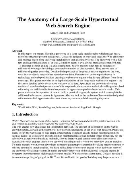 Google Research Paper