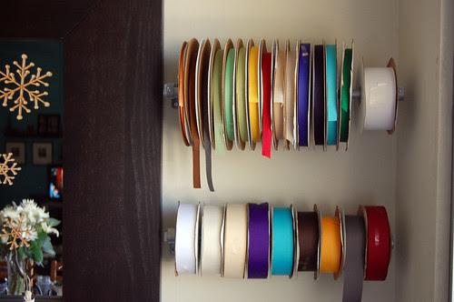 ribbons, organized
