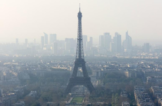 Air pollution costs France €100 billion per year