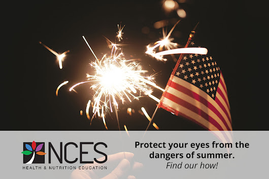 Eye Protection Awareness: Eye safety on the 4th!