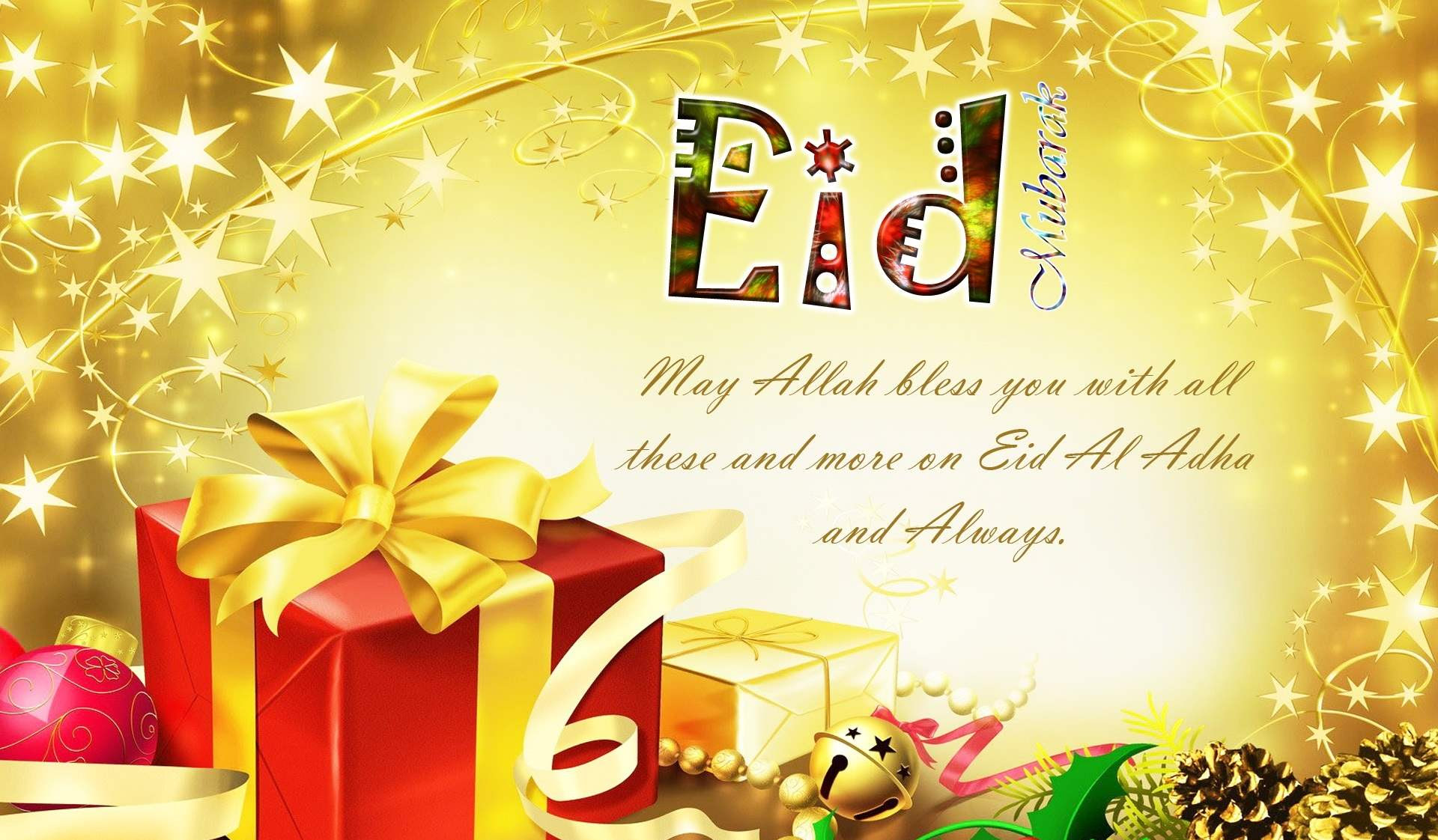 35 Happy Eid Mubarak 2015 HD Wallpapers and Photos