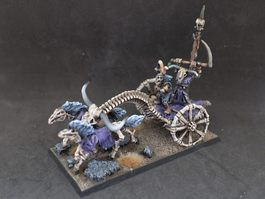 SKELETON WAR MACHINES MD8. CARRO. – Goblin Tramposo