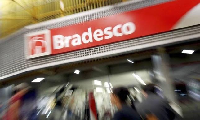 Agência do Bradesco em Brasília (Foto: Adriano Machado / Bloomberg)