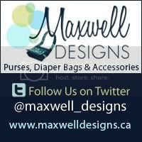 Maxwell Designs -  purses and the best diaper bags, made in canada