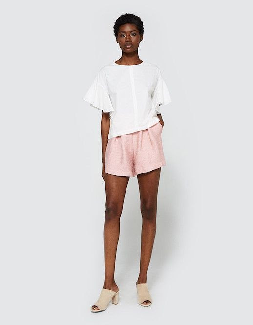Le Fashion Blog Must Have Dynasty Bermuda Pink High Rise Shorts Via Need Supply