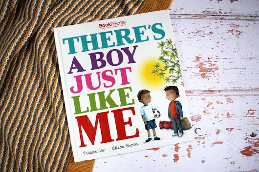 Review: There's a Boy Just Like Me from Book People - What the Redhead said
