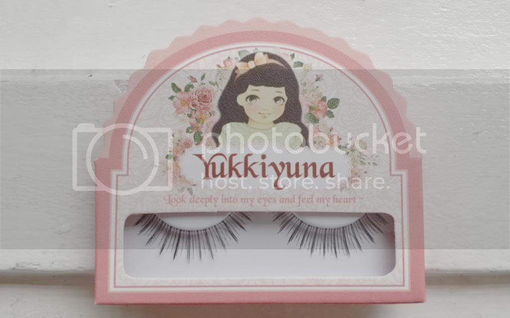 yukkiyuna fake eyelashes sweet angel
