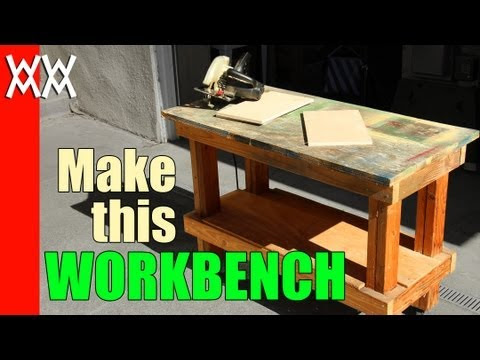 Build a Plywood Workbench