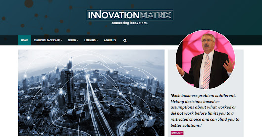 The Innovation Matrix newsletter is out