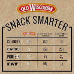 Old Wisconsin Premium Summer Sausage, 100% Natural Meat, Charcuterie, Ready To Eat, High Protein, Low Carb, Keto, Gluten Free, Beef Flavor, 16 Ounce