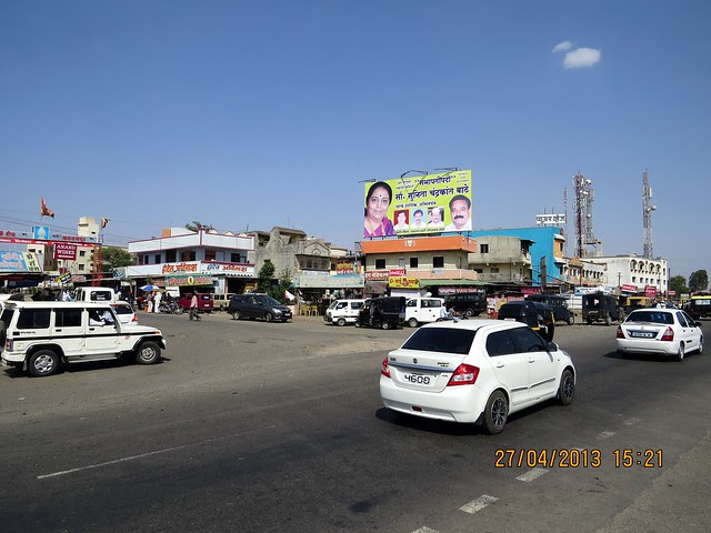 Kapurhol Junction on Pune Bangalore Highway - Visit Jalan Group's Sai Sparsh, 1 BHK Flats & Shops