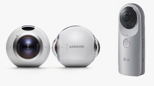 Adu Gengsi Kamera 360 Samsung dan LG
