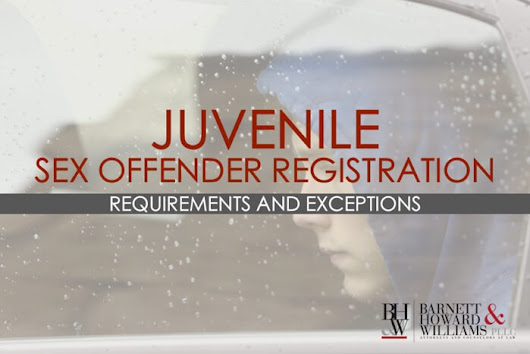 Juvenile Sex Offender Registration in Texas