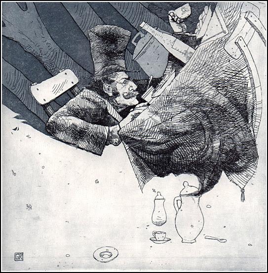 Giovanni Robustelli, Nel paese di Alice