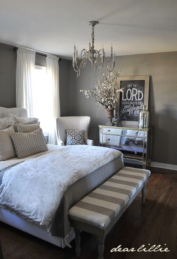 40 Gray Bedroom Ideas - Decoholic