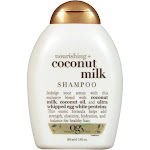 OGX Shampoo, Nourishing, Coconut Milk - 385 ml