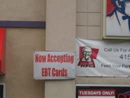 food stamps  fast food restaurants