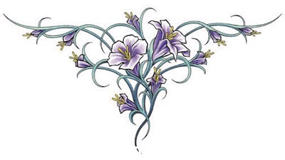 Diseño Con Flores Para La Espalda Tatuajes 123