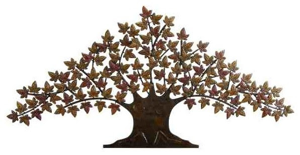 Large Tree of Life Metal Wall Tree - Eclectic - Artwork ...