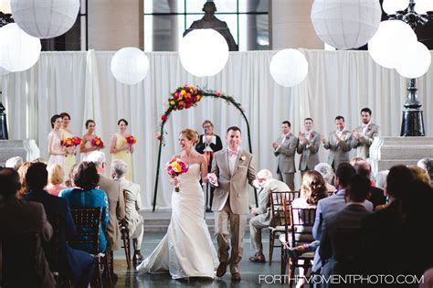 Saint Louis Missouri History Museum Wedding Ceremony