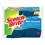Scotch-Brite 6 Piece Multi Purpose Scrub Sponge Pack ( Pack of 5 )